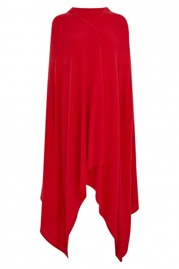 100% Cashmere Wrap - Red