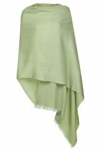 Apple Green Pashmina - 50% Cashmere 50% Silk