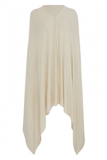 100% Cashmere Wrap - Cream