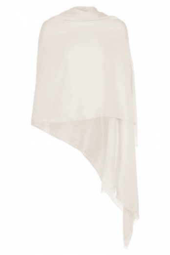 Cream Pashmina - Imperfect